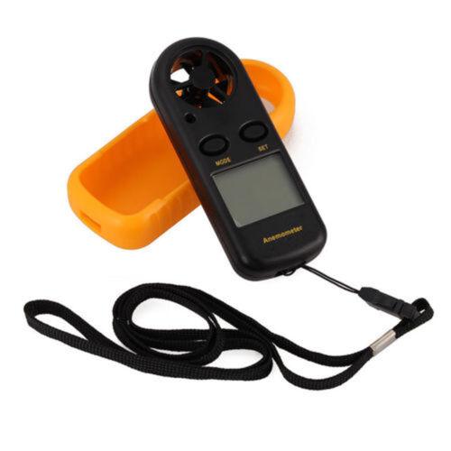LCD Tiny Digital Windgeschwindigkeitsmesser Geschwindigkeitsanemometer Thermomet