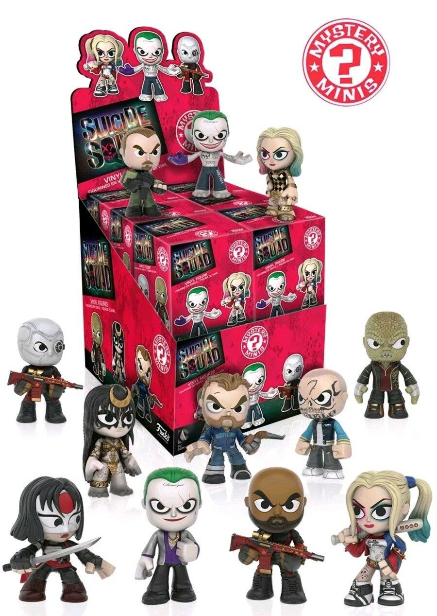 Funko Mystery Minis Sealed Box Of 12 SUICIDE SQUAD new sealed