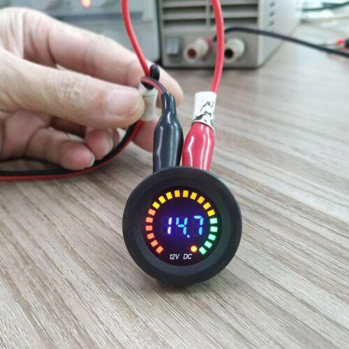 DC 12V Car Motorcycle Digital Voltmeter Voltage Gauge Meter LED Panel Display