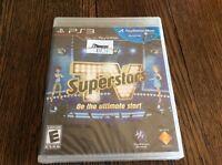 Tv Superstars (sony Playstation 3, 2010) Sealed Free Us Shipping