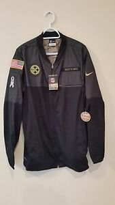 1fb4ced4 PITTSBURGH STEELERS 2016 NIKE NFL SALUTE TO SERVICE HYBRID JACKET XL ...