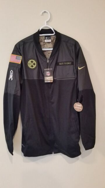 buy online 06e84 03852 PITTSBURGH STEELERS 2016 NIKE NFL SALUTE TO SERVICE HYBRID JACKET XL