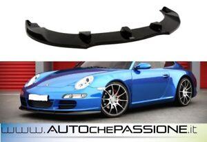 Splitter-Spoiler-anteriore-per-Porsche-997-2004-gt-2009-no-restyling-lama-sotto-par