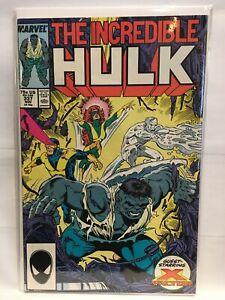Incredible-Hulk-Vol-1-337-VF-1st-Print-Marvel-Comics