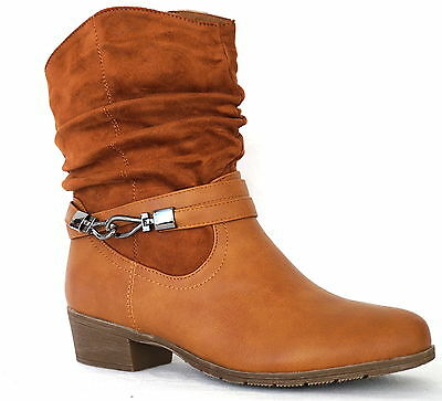 schuhe damen stiefeletten stiefelette stabilen absatz  boots camel