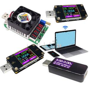 UT21-UT21B-7-in-1-LCD-Tester-Corrente-USB-LD25-CARICA-elettronica-Voltmetro