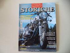 MOTO STORICHE E D'EPOCA 4/2004 MUNCH MAMMUT/YAMAHA TY 250/SCHNELLER FUCHS 160