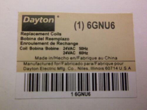 REPLACEMENT COIL DP 24 VAC 6GNU6 A63S