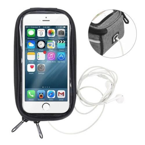 US Bicycle Cycling Bike Front Frame Bag MTB Waterproof Phone Holder Case