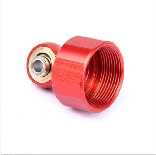 2X CNC 8MM sHOCK shock absorber cap for baja hpi rovan 5B 5T orange