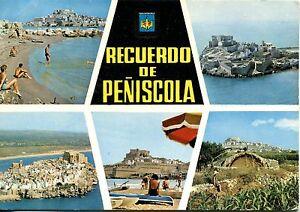 Alte-Postkarte-Recuerdo-de-Peniscola