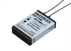 Multiplex RX-7-DR M-Link 2,4 GHz Empfänger RX7DR 55811 Neu und Sofort Lieferbar
