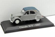Citroen 2CV Baujahr 1957 grau 1:43 Altaya