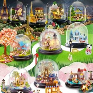 Xmas-Gift-DIY-Music-Box-Dolls-House-Miniature-Kits-Handmade-Dollhouse-Kids-Toys