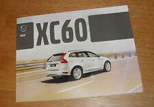 Volvo XC60 Brochure 2011 - T6 T5 D5 D3 - ES SE Lux SE R-Design