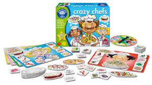 Crazy Chefs Game Orchard Toys Matching And Memory Game 3 - 6 Years
