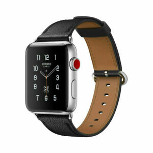 Leather-Watch-Bands-Strap-Bracelet-Watchband-For-Apple-Watch-iWatch-38mm-42mm