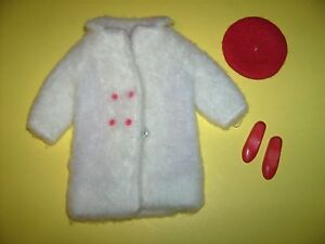 Chill-Chasers-Skipper-1960s-Fashions-doll-clothes-outfit-coat-hat-Vtg-Barbie