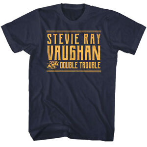 stevie ray vaughan double trouble men 39 s t shirt guitar rock band concert tour ebay. Black Bedroom Furniture Sets. Home Design Ideas