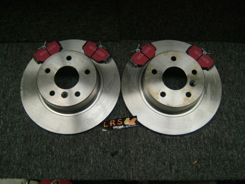 Land Rover Discovery 1 300tdi Front and Rear Brake Discs and EBC Ultimax Pad Kit