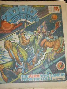 2000-AD-amp-TORNADO-Comic-PROG-No-139-Date-17-11-1979-UK-COMIC