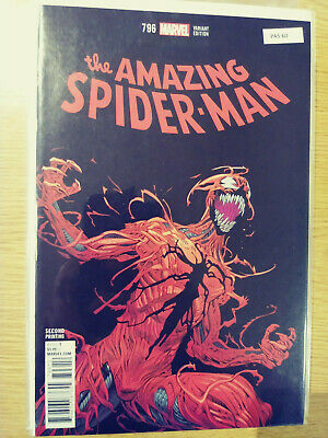 AMAZING SPIDER-MAN 798 RAMOS CONNECTING VARIANT UBER HIGH GRADE NM//MINT PA5-62
