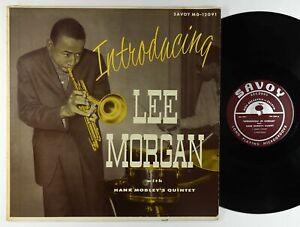 Lee-Morgan-w-Hank-Mobley-Introducing-Lee-Morgan-LP-Savoy-Mono-RVG-VG