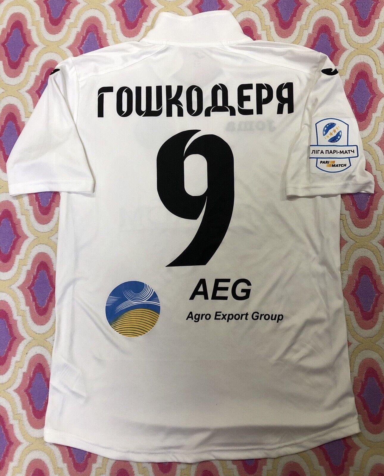 TShirt  match worn Football Olimpik Donetsk Shirt Ukraine Champions