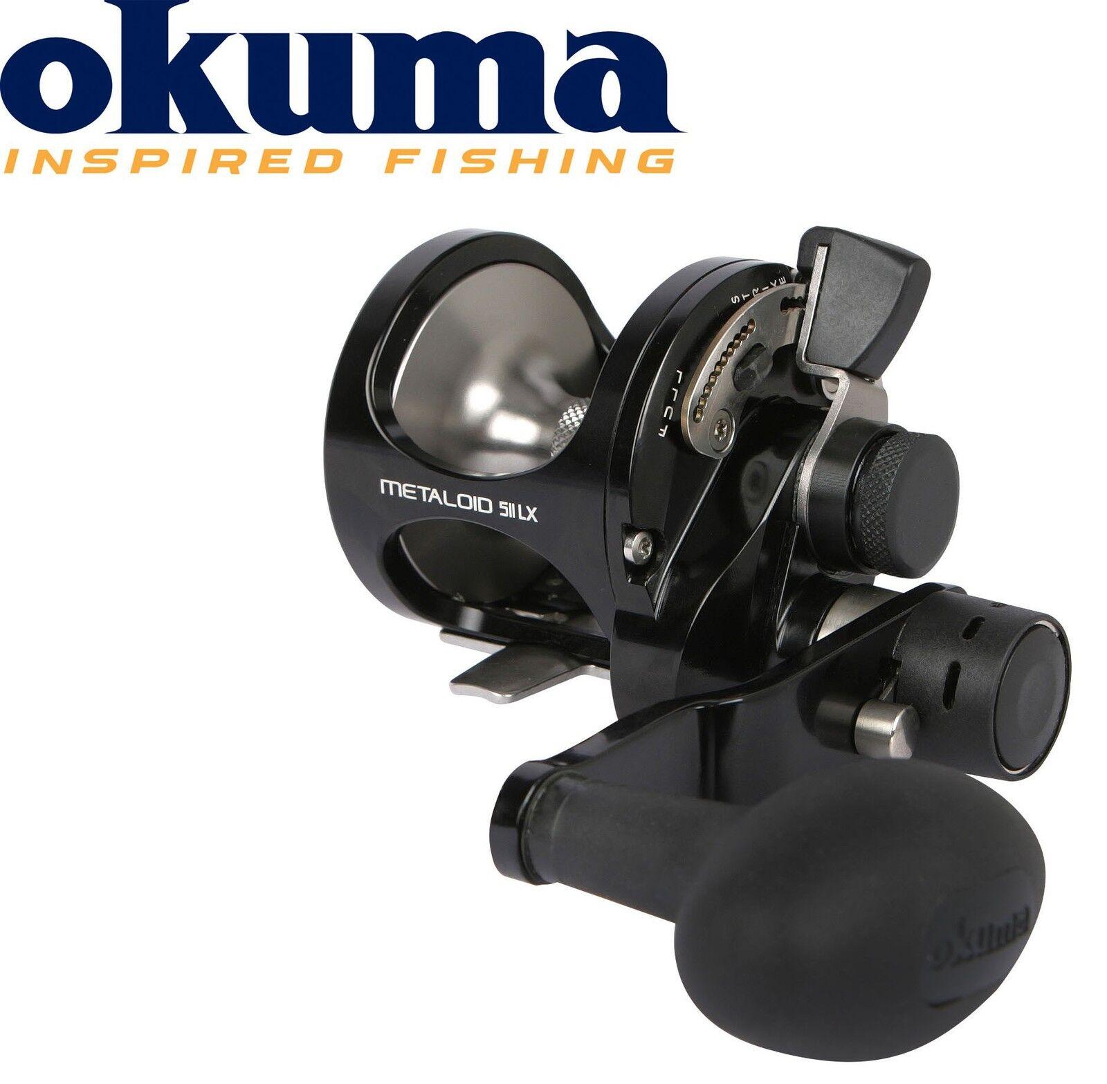 Okuma Metaloid Metaloid Okuma M-5IILX 4bb 2 Speed Left Hand Multirolle Linkshand, Meeresrolle 1c117d
