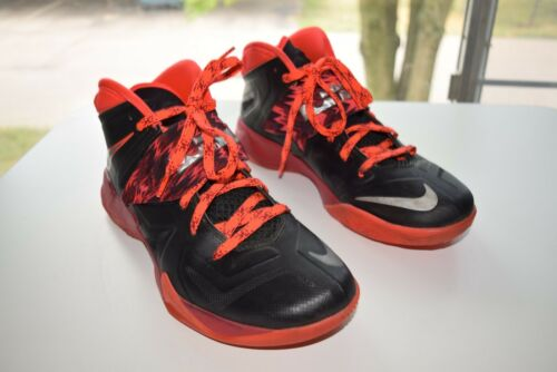 Shoes Size 9 Zoom Basketball 005 Soldier Lebron Mens Nike James Vii 609679 WEH29ID