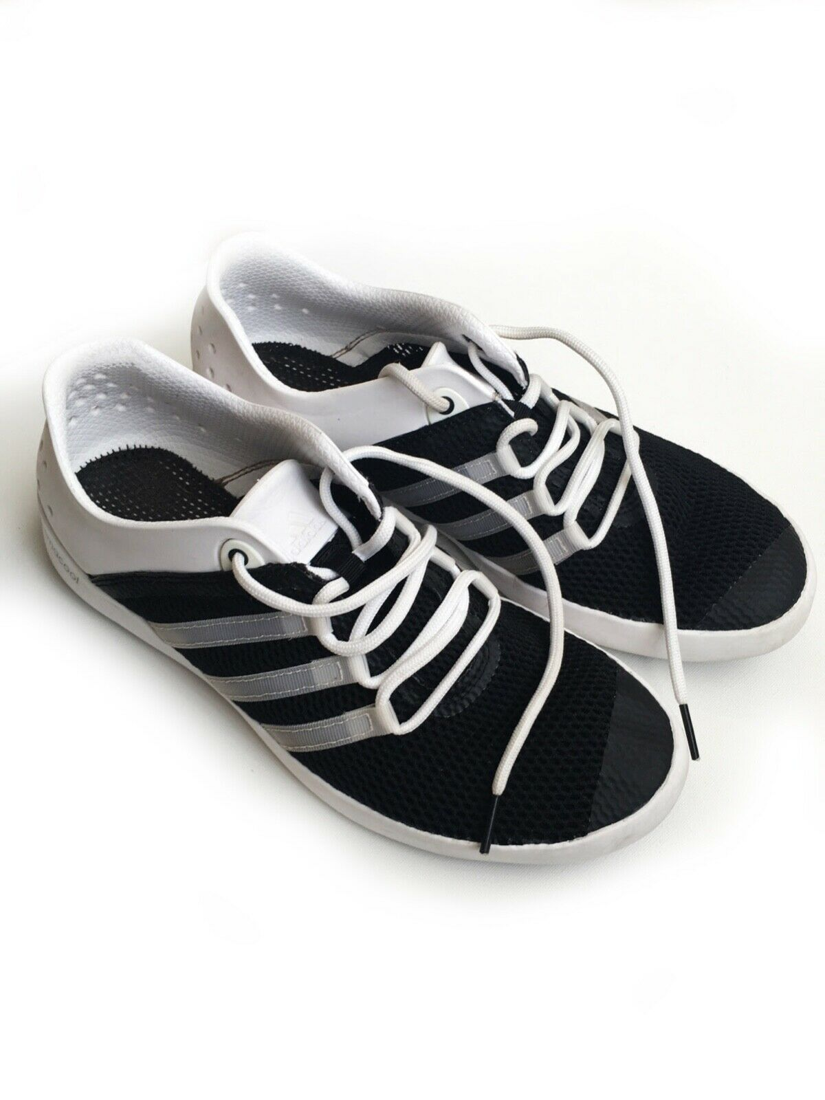 Pre-owned athletic Adidas summer shoes men US 8 1 2