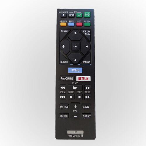 Neue RMT-VB100U Fernbedienung Für Sony Blu-ray DVD-Spieler BDP-S1500 S3500 BX150