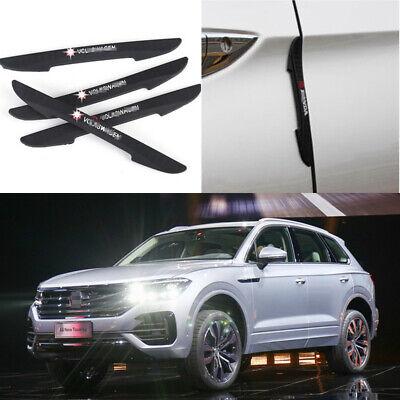 For Volkswagen CC Car Side Door Edge Guard Bumper Trim Protector Stickers 4pcs