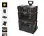 thumbnail 1 - Toolbox Storage 3 Piece Cart Set Trend MS/P/SET3C Pro Modular Takes Up To 120kg