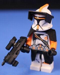 lego® star wars™ 212th clone commander™ deluxe phase i  custom helmet detail | ebay