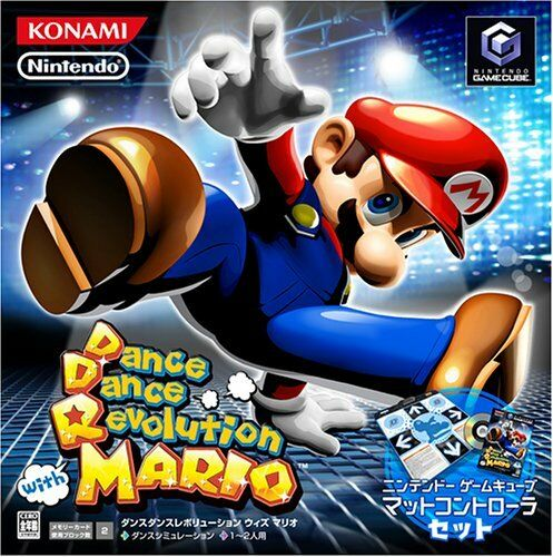 Dance Dance Revolution con Mario (con baile Controller) [Importación de Japón]