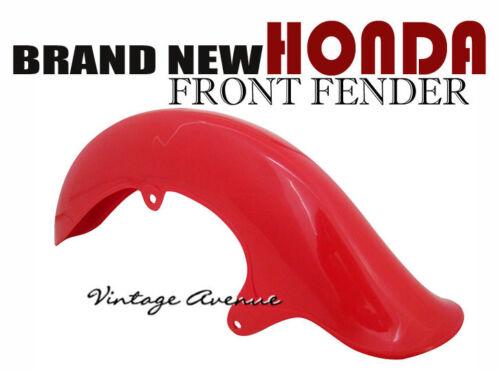 HONDA CUB CM90 CM91 FRONT FENDER RED