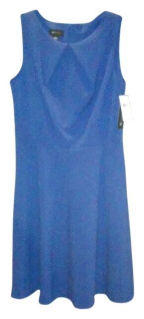 AB Studio Women's  Sheath Dress - Royal Blue Size 12