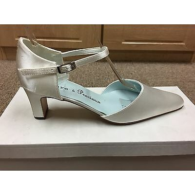 Ivory satin bridal bridesmaid Wedding shoes All sizes Available Style POSY