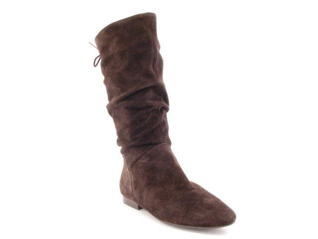 ny VITT MOUNTAIN kvinnor kvinnor kvinnor Brn mocka Mid -Calf Flat Comfort Slouch Boot SZ 7.5 M  het försäljning online