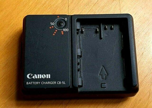 CANON Genuine CB-5L CHARGER for BP-511 batteries EOS 50D 40D BP-511 BP-512 BP-51