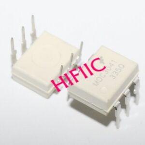 5PCS MOC3041 6-Pin DIP Zero-Cross Optoisolators Triac Driver Output