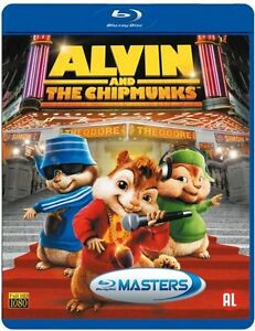 Alvin And The Chipmunks blu ray disc