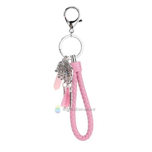 Dream Catcher Keyring Charm Pendant Purse Bag Key Ring Key Chain Car Keychain