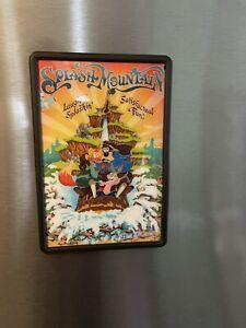 SPLASH MOUNTAIN Disney Song Of The South Magic Kingdom Magnet Frame 4x6