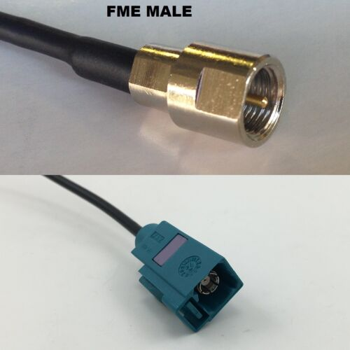 RG316 FME MALE to Fakra Neutral Female Coaxial RF Cable USA-US