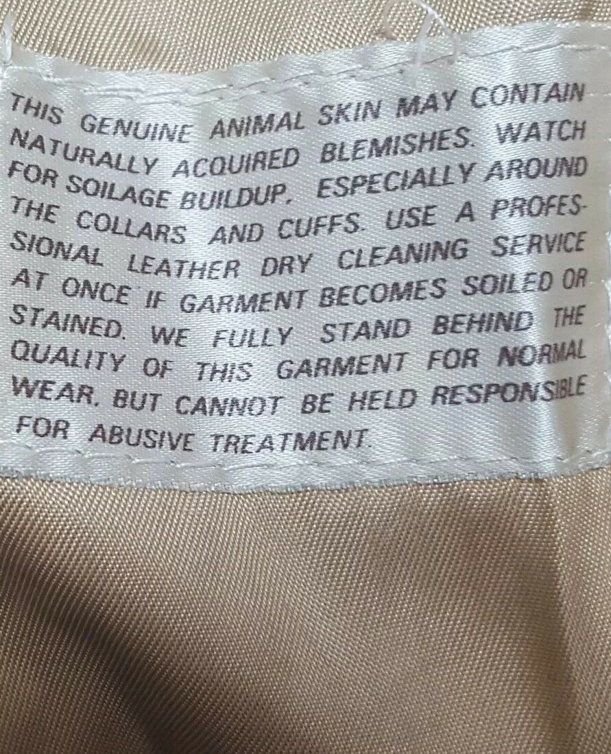 SILTON  Brown Leather 70s  Blazer Sport Coat Siz… - image 9
