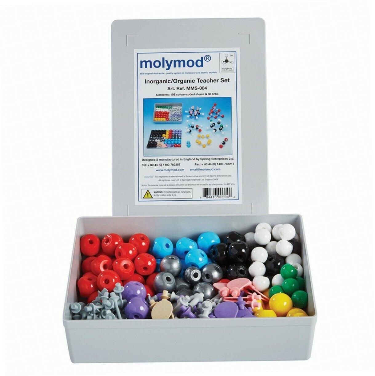 Molymod MMS-004Anorganisches Organisches Chemie-Molekular-Modell, Lehrer-Set...