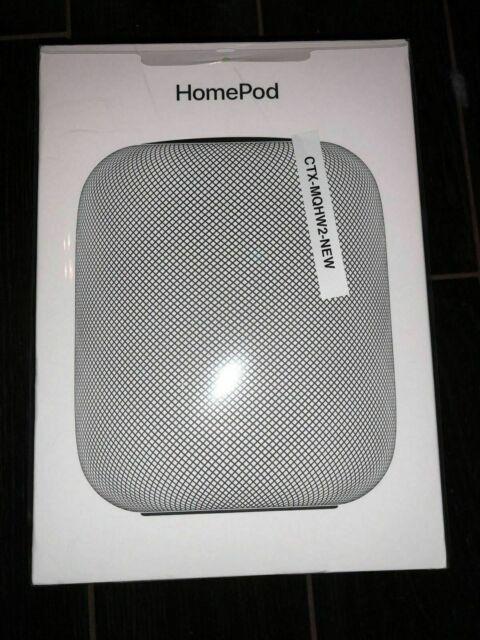 NEW SEALED Apple HomePod Space Gray Digital Media Streamer MQHW2LL/A *FAST SHIP*