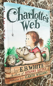Charlotte's Web, by E.B.White,1952 Stated First Edition ~w/Facsimile Dust Jacket